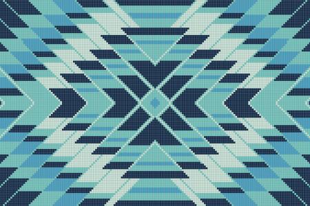 Mirage Glacier Tile Pattern
