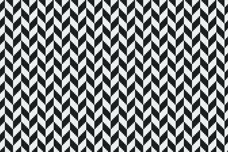 Black Repeating Contemporary Geometric Mosaic by Artaic