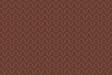 Brown Repeating Contemporary Geometric Mosaic by Artaic