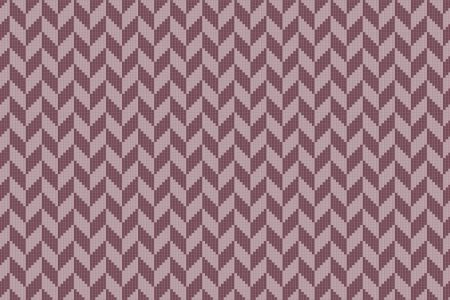 Pink Repeating Contemporary Graphic Mosaic by Artaic