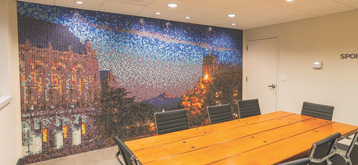 Custom Mosaic Mural