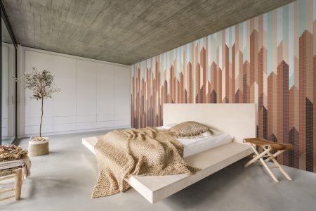 Crystalline Mosaic Tile Design