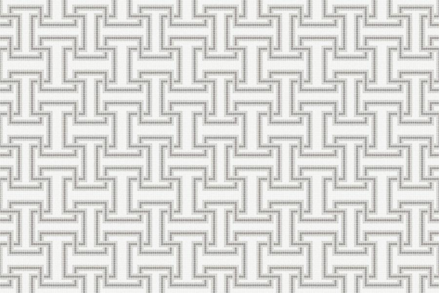 Athena Titanium Tile Pattern