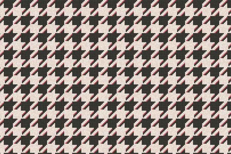 Dane Cherry Tile Pattern