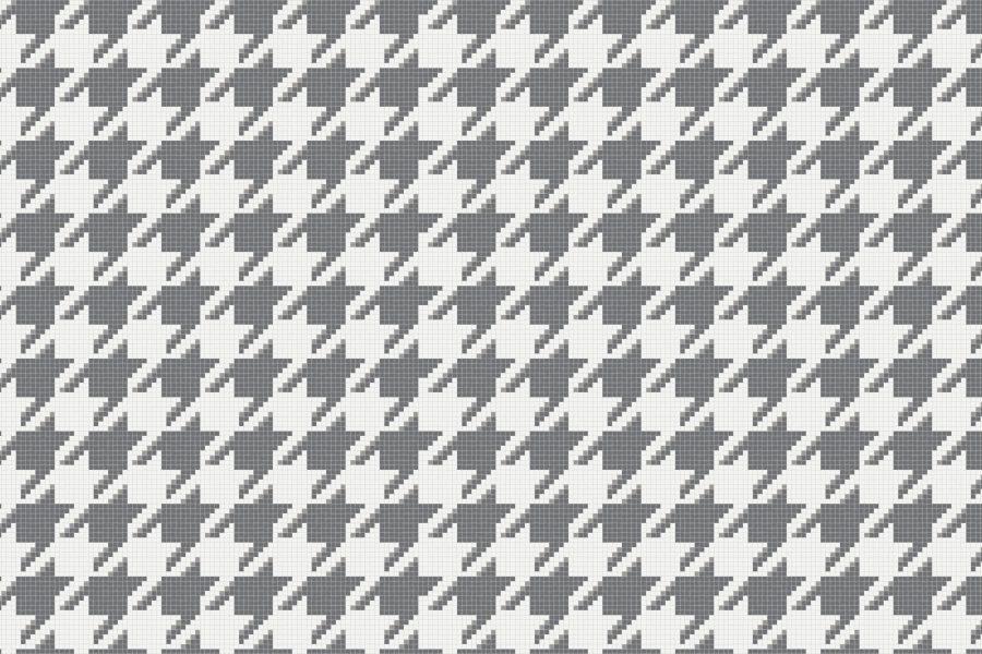 Dane Titanium Tile Pattern