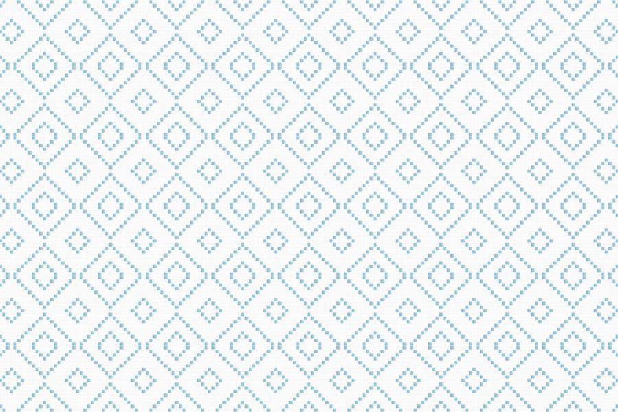 Diamond Glacier1 Tile Pattern