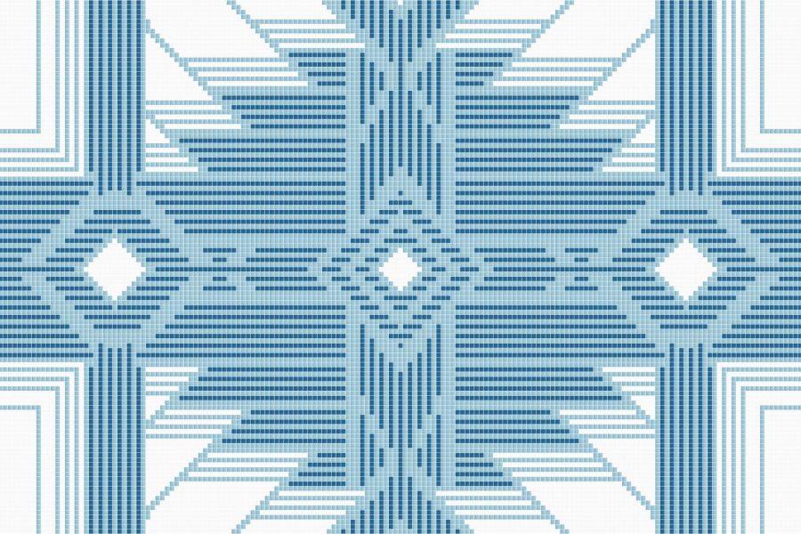 Heritage Glacier Tile Pattern
