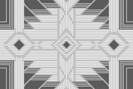 Heritage Pewter Tile Pattern