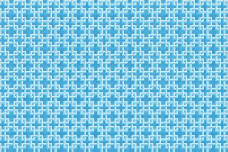 Lattice Lake Tile Pattern