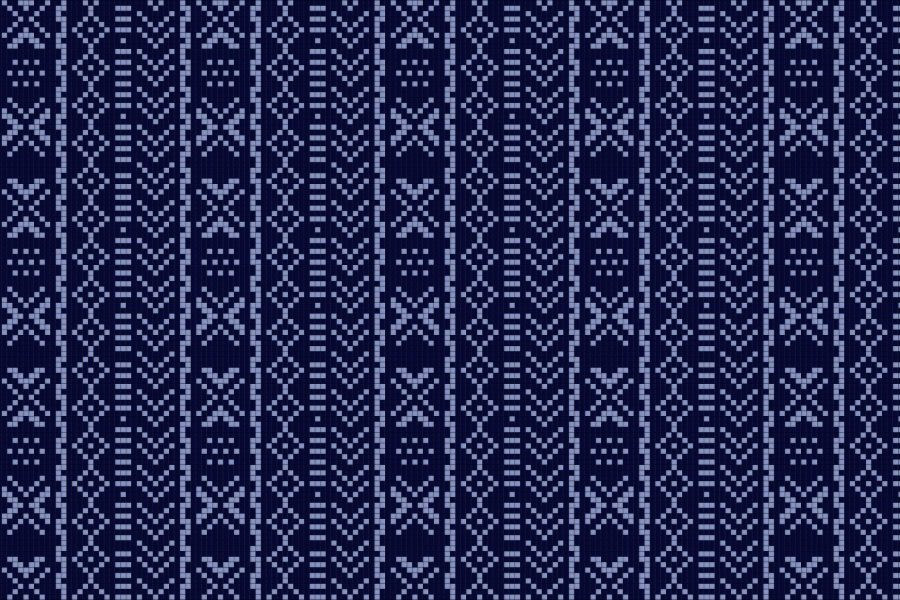 Mali Moonrise Tile Pattern