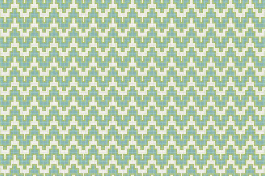 Maya Aloe Tile Pattern