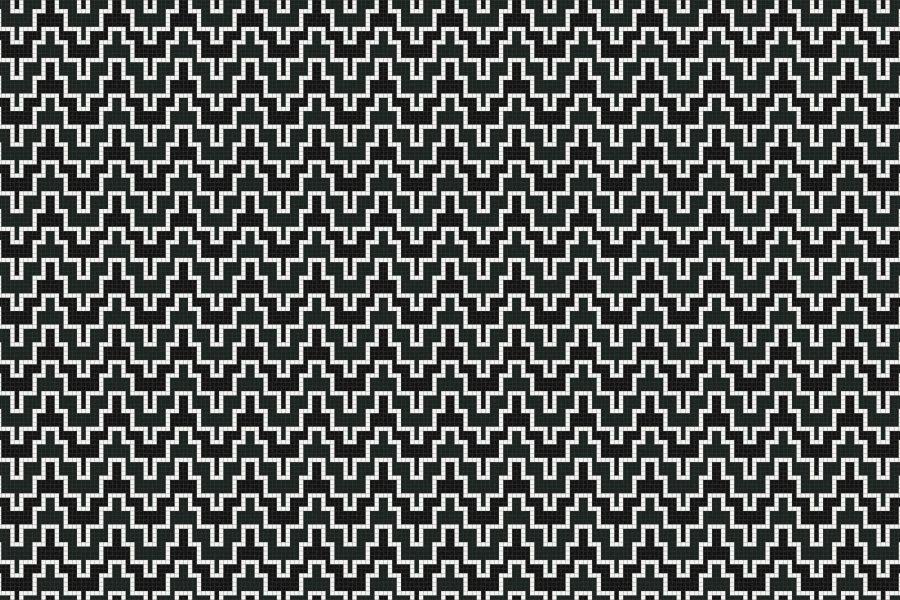 Maya Lunar Tile Pattern