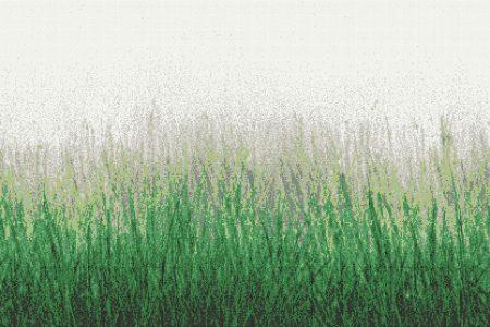 Meadow Virid Tile Pattern