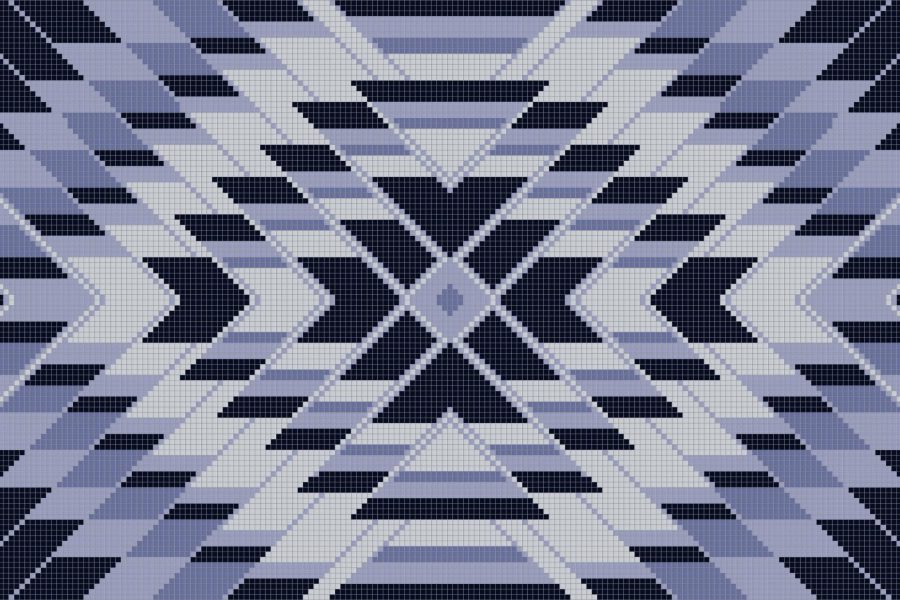 Mirage Lavender Tile Pattern