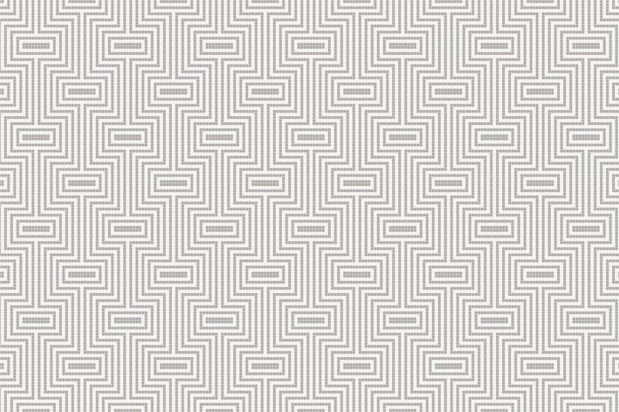 Optical Titanium Tile Pattern
