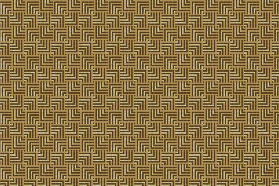Plateau Gold Tile Pattern