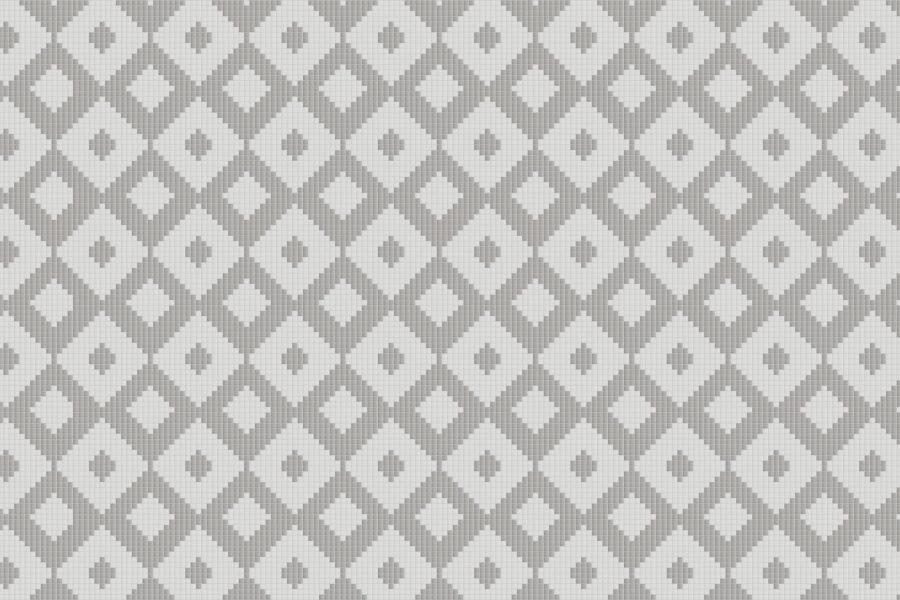 Rhombi Pewter2 Tile Pattern