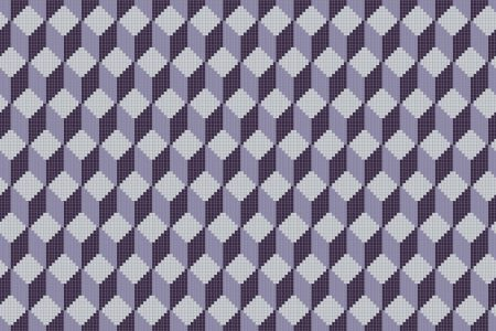 Rubix Amethyst4 Tile Pattern