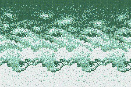Stratify Seafoam Tile Pattern