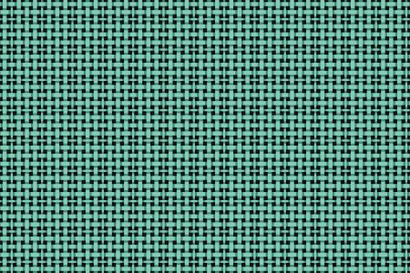 Weave Turquoise Tile Pattern