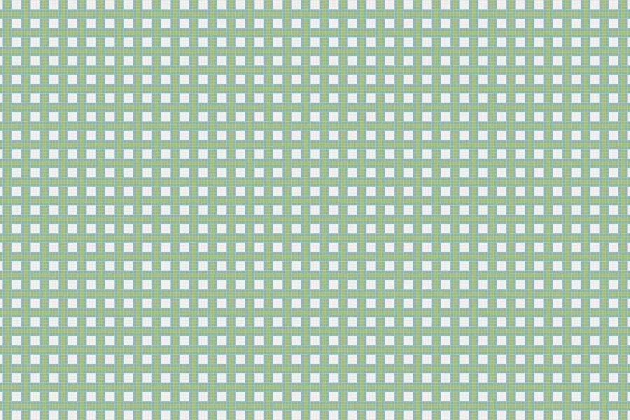 Wicker Aloe Tile Pattern