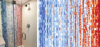 mosaic tile installations portfolio - artaic